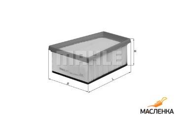 Фильтр воздушный MAHLE LX 773 (аналог MANN C 1858/1, C 1858/2 ...